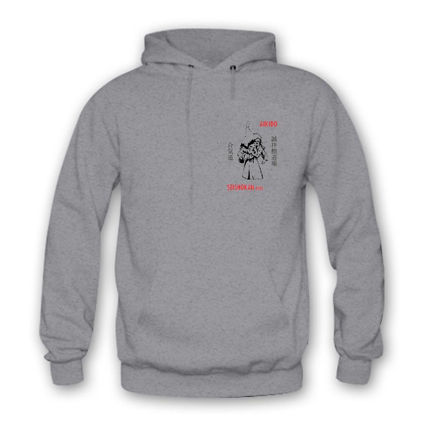 b45d3e51a1 Egyesületi kapucnis pulóver - Seishokan Aikido Egyesület